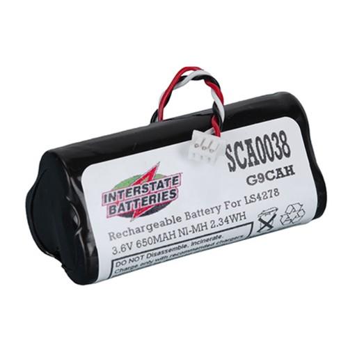 Interstate Batteries Sca0038 23 35 Scb 0038 3 6v 650mah