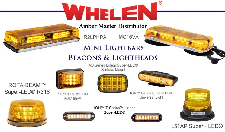 Whelen beacons and other products