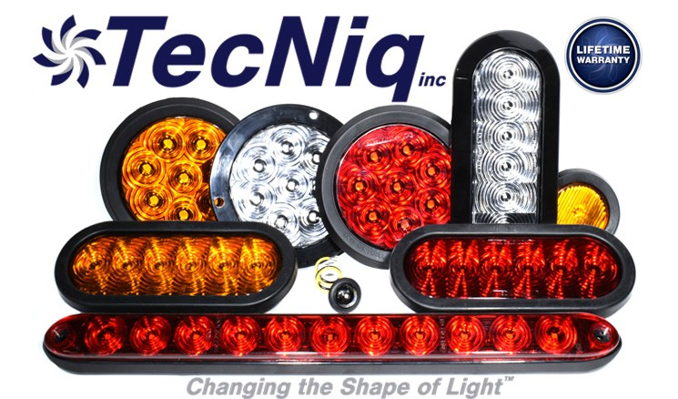 TecNiq truck and trailer lights and more